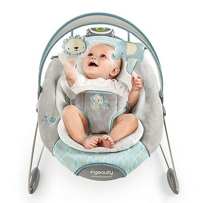Ingenuity Fisher Smartbounce Automatic Baby Bouncer - Cambridge