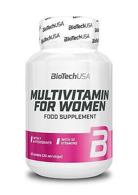 (99,03EUR/kg) Biotech USA - Multivitamin for Women 60 Tabletten