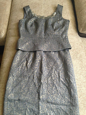 ESCADA COUTURE suit - top and skirt, size 40