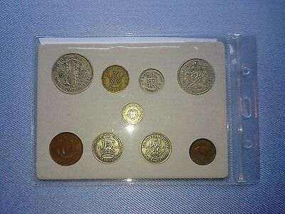 Vintage Great Britain(UK),1941 Coin Year Set.(76TH Birthday,6 Coins silver).��.