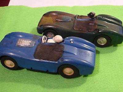 Pair of Vintage Scalextric Sports Cars