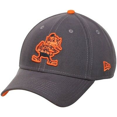 Cleveland Browns New Era 9Forty Grafpop Adjustable Cap - Graphite