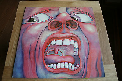 King Crimson in the court of the crimson king vinyl lp Record  * Near mint *
