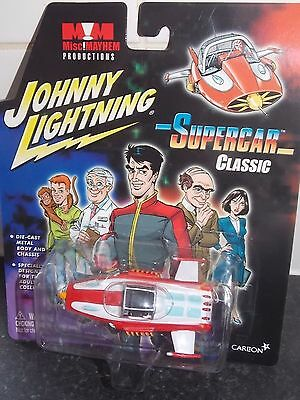 Rare Johnny Lightning Supercar Classic Gerry Anderson Mint And Carded