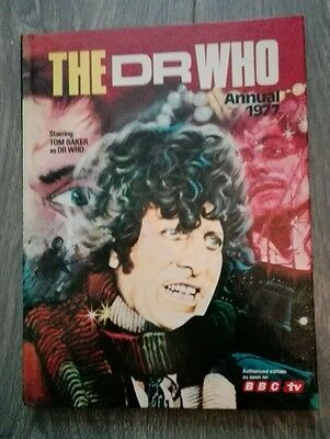 Vintage Book - The Dr Who Annual 1977