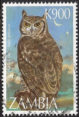 Zambia 1997 900k Spotted Eagle Owl Used