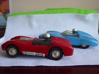 Pair Vintage sports cars for Scalextric tracks