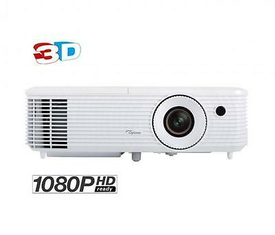 OPTOMA HD27 FULL HD 3D GAMING DLP PROJECTOR 3200 LUMENS 16:9 2xHDMI 10W - WHITE
