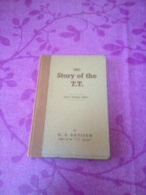 2nd Enlarged Edition 1948 The Story of the T.T. Motorcycle Racing G.S.Davison