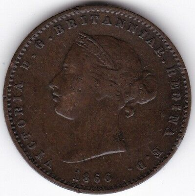 1866 Jersey 1/26 Shilling***Collectors***
