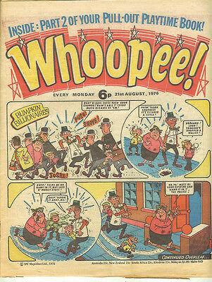Whoopee! 21st August 1976 (almost high grade) Frankie Stein, Scream Inn