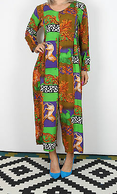 Jumpsuit UK Small 10 approx. 1980's 80's  All in one Vintage (4AL)