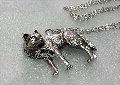 Wild Wolf Pendant Necklace - Animal Totem