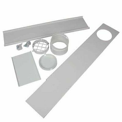 EdgeStar Upgraded Portable AC Vent Kit for Sliding Glass Doors and Large Windows