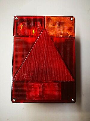 Radex 6800 complete rear lamp unit for Ifor williams P6e, Indespension, Lider