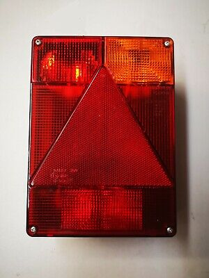 Radex 6800 rear lamp unit to fit Ifor williams P6e, Indespension, Lider