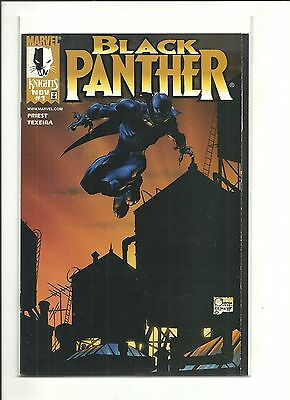 Black Panther #1 Dynamic Forces Quesada variant with COA 1998 high grade