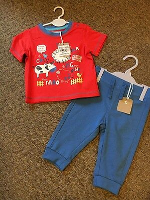 baby boy 3-6 months BNWT trousers And T Shirt