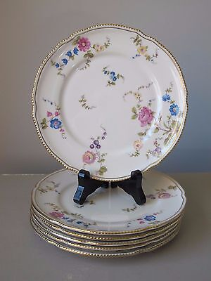 Castleton Sunnyvale Salad Plates, Set of (6), Vintage, Multiple Sets Available
