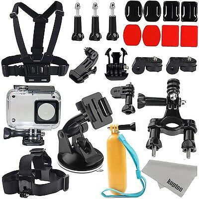 22-In-1 Xiaomi Yi 4k Accessories Kit Action Camera Waterproof Case + Free Gifts