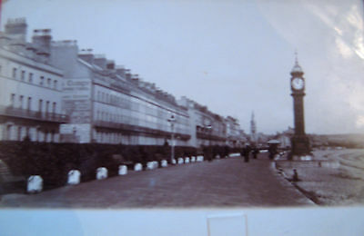 Nice Vintage Postcard -  Row Of Hotels, Weymouth Sea Front ,dorset