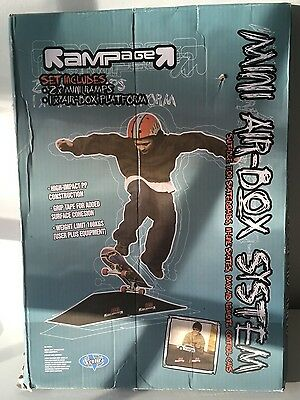 Rampage Mini-Airbox System Ramp for Bikes Skateboards In-Line Skates RC Toys