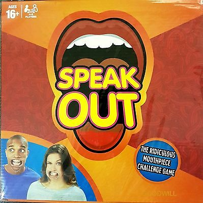 Brand New SPEAK OUT Board Party Game - in UK Stock NOW!!