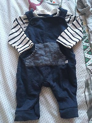 Baby Boy Outfit Bundle 0-3 Months