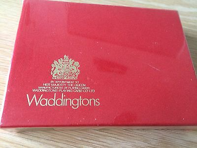 Pack Of 2 Waddingtons Playing Cards . Collectors Item