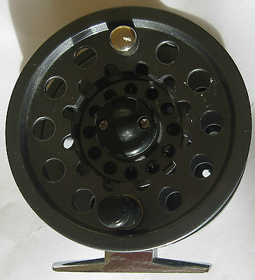 Leeda Mayfly Die-Cast Aluminium Large Arbor Fly Reel with Spare Spool