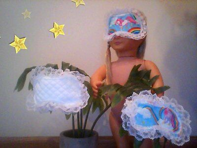 New Generation Doll Clothes Sleeping Mask Reversable American Girl Accessory