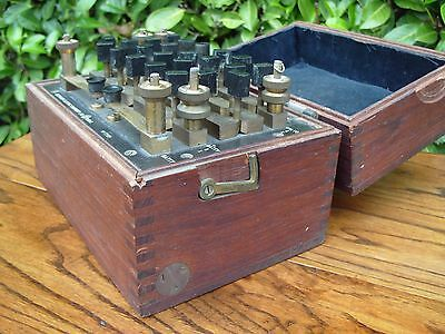 Antique Vintage Electrical Tool Measuring Resistance Box Electric Equipment