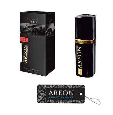 Areon GOLD Quality Long Lasting Car Luxury Cardboard Freshener Perfume 50ML
