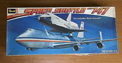 Revell 1/144 scale Space Shuttle and 747 Transport