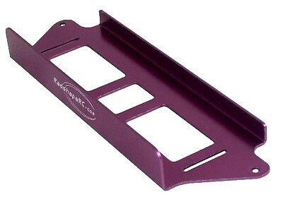 Radshape RC LiPo Battery Tray - Mi2 Schumacher - Purple Anodise -  #RMI2LT-AP