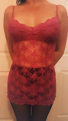�� Next �� mesh lace Babydoll lingerie outfit �� sized at a uk 8