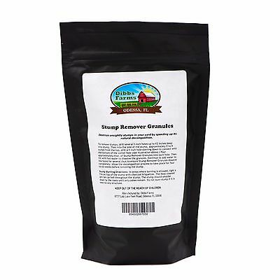 Tree Stump Remover Granules (Professional Grade)