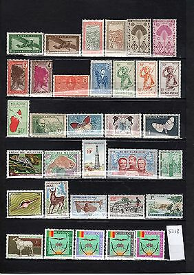 Lot Timbre Pays Expression Francaise Maroc Martinique Mauritanie