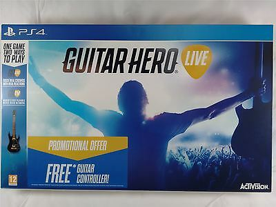 Guitar Hero Live 2015 Stand Alone Wireless Guitar Controller Only PS4 New Sealed