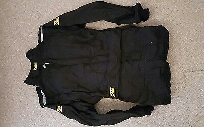 Race Suit OMP In Black FIA approved 8856 2000