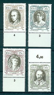 SOUTH AFRICA*1984* compl.set 4 stamps* MNH** Authors - Mi.No 642-645