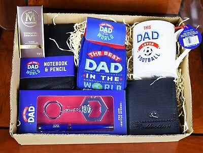 Fathers Day Gift Hamper Basket for Dad Daddy Father's Day
