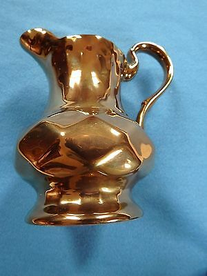 Wade  Copper Lustreware Creamer / Pitcher  from Wade pottery England