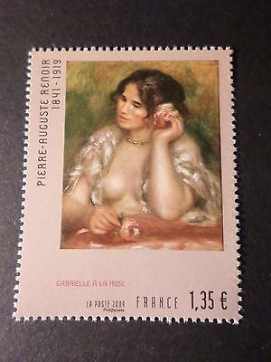 FRANCE 2009 timbre 4407, TABLEAU RENOIR, ART, PAINTING, neuf**, MNH STAMP