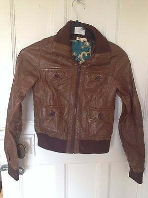 girls h & m jacket good condition size 12-13 years