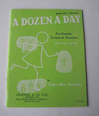'A Dozen a Day' - Book Two Elementary - for the piano