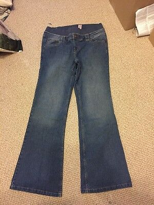 Bootcut Maternity Jeans Size 14