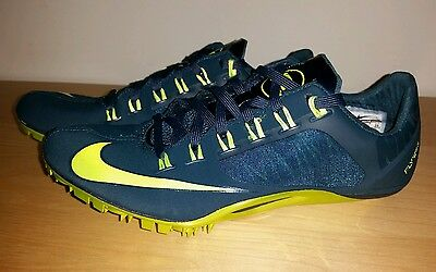 New Nike Superfly R4 Track and field Spikes Men's US 12.5 Teal Green Volt
