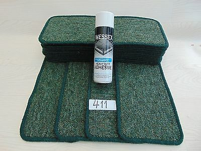 Carpet Stair pads / treads 15 off and  with a FREE can of SPRAY GLUE (411-4)