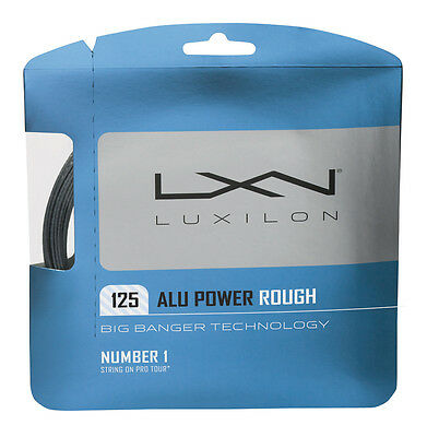 Luxilon Alu Power Rough Tennis String 1.25Mm - 12M Full Set - Clearance Price